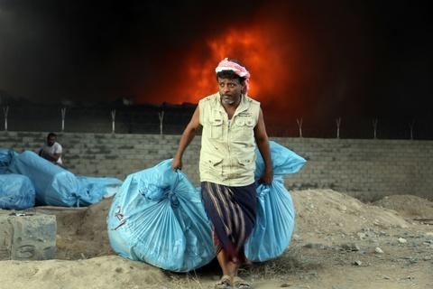 Nan doi o Yemen: Khung hoang nhan dao nghiem trong nhat the gioi hinh anh