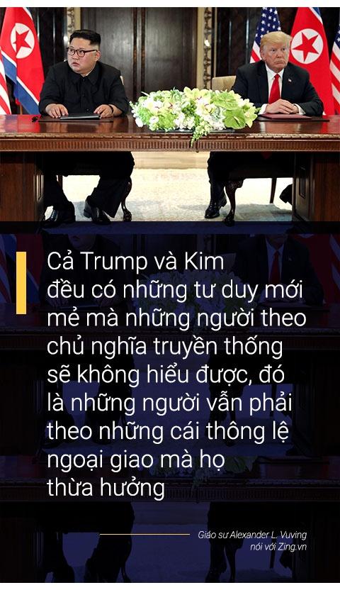 Donald Trump va Kim Jong Un: Moi quan he ky la cua nhung ca tinh manh hinh anh 4