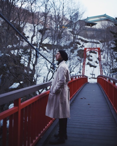 Hokkaido dep nhu mo trong anh check-in cua nam chinh 'Friend zone' hinh anh 10