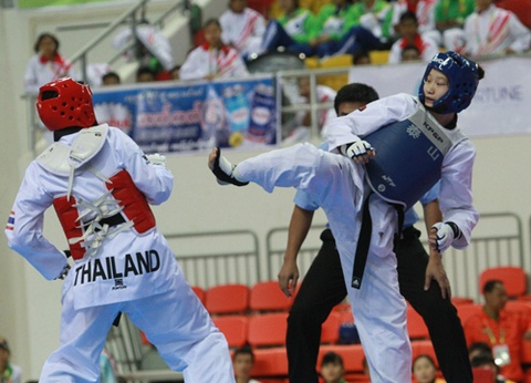 Lich thi dau SEA Games 21/12: Cho nhung tam HCV cuoi hinh anh
