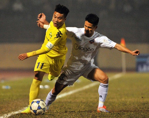 Ban thang cua 'Ronaldo Viet Nam' dep nhat vong 2 V.League hinh anh