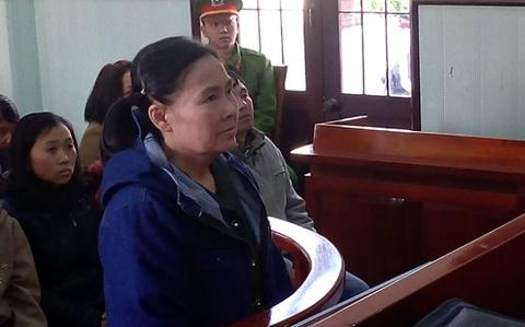 'Trum' co bac Vu Hoang Oanh nhan an 18 thang tu hinh anh