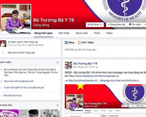 Facebook bi che 'hoi don dieu', thu ky Bo truong noi gi? hinh anh