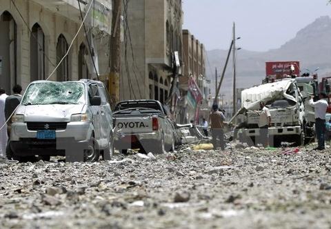 Lien quan Arab ket thuc chien dich khong kich Houthi hinh anh