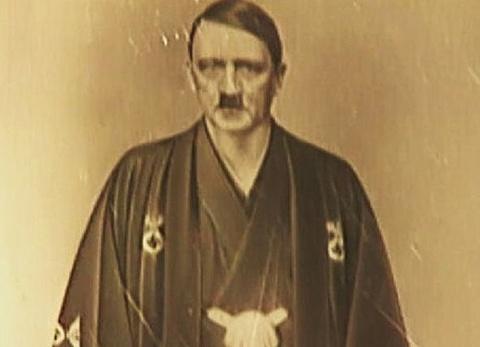 Cac bao dang buc anh trum phat xit Hitler muon giau hinh anh