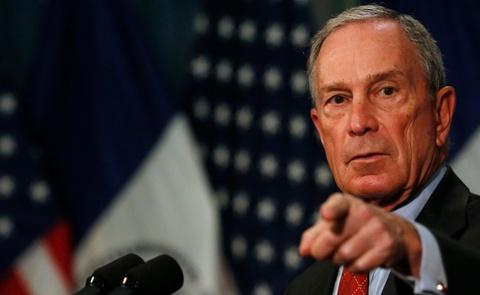Ty phu Bloomberg khong tranh cu vi so giup Trump chien thang hinh anh