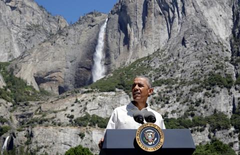 Obama keu goi bao ve moi truong khi di nghi cuoi tuan hinh anh 8
