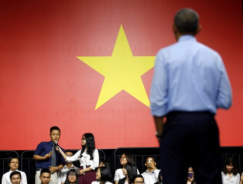 Gioi tre Viet hao huc cho gap lai Tong thong Obama hinh anh