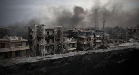 My, Nga chi trich nhau quyet liet ve Syria hinh anh
