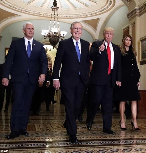 Ngay ban ron dau tien cua phu nhan Trump o Washington hinh anh 3