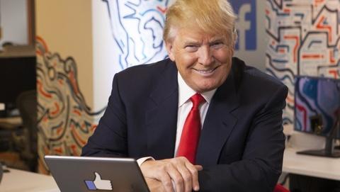 Trump thang nho thong tin gia mao tren Facebook nhu the nao