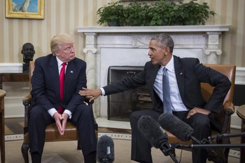 Mot thang ban ron cua Trump sau khi dac cu tong thong My hinh anh 2