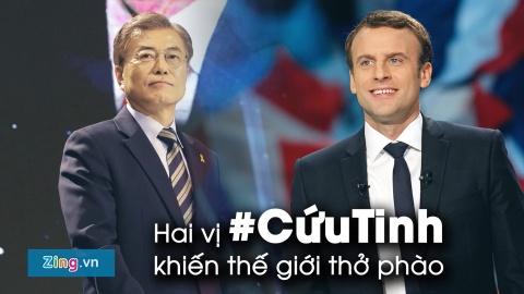 Hashtag tuan qua: Lo dien 2 vi cuu tinh cua the gioi hinh anh