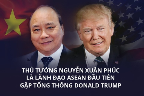 Thu tuong Nguyen Xuan Phuc se gap TT Donald Trump o Nha Trang hinh anh 2
