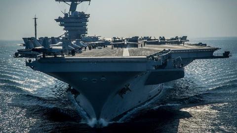 Sieu hang khong mau ham USS Carl Vinson se den Da Nang hinh anh