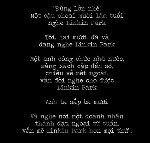 Linkin Park: Thanh am tuoi tre cua mot the he fan Viet hinh anh 3
