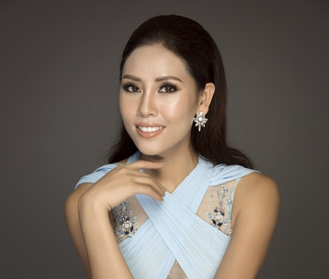 Nguyen Thi Loan: 'Toi se nang cao nhan sac Viet tai Miss Universe' hinh anh