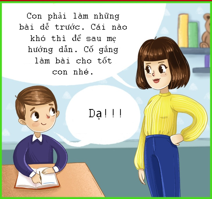 Bo tranh hay day con khon kheo, dung quat mang hinh anh 8