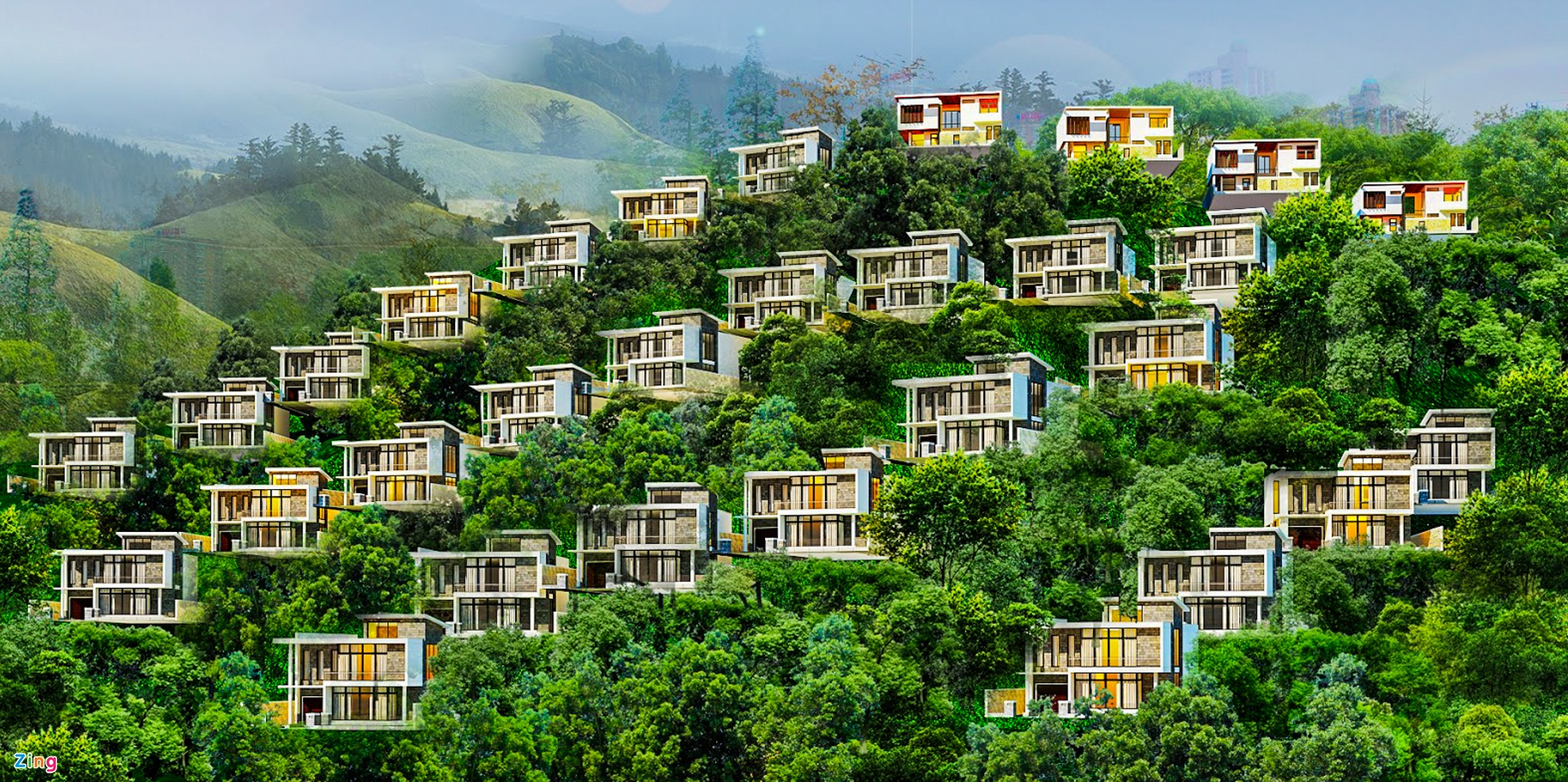 Resort, biet thu 5 sao xe nui 'treo tren dau dan' o Nha Trang hinh anh 11