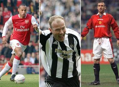 Top 10 tien dao huyen thoai trong lich su Premier League hinh anh