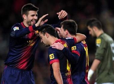 HLV Tito Vilanova tro lai, Barca dai thang dau nam hinh anh