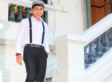 Nguyen Khang tro thanh MC chinh trong dem chung ket F-idol 2012 hinh anh