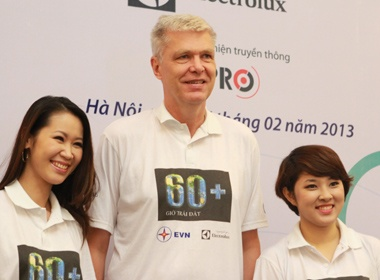 Bao Tran,Tung Duong lam dai su 'Gio Trai dat 2013' hinh anh