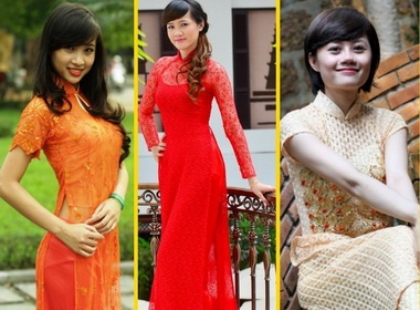 Top 10 Miss SLNA quyen ru ao dai hinh anh