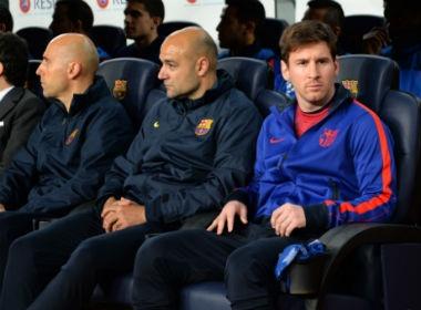Tin nong Champions League: Messi co the vang mat hinh anh