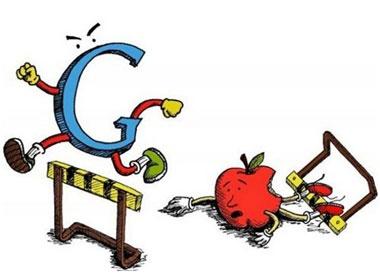 Apple dang mat vi tri noi bat ve tay Google? hinh anh