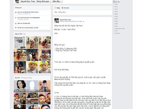 Thay tro Ly Hoang Nam thong bao khong len tuyen qua Facebook hinh anh