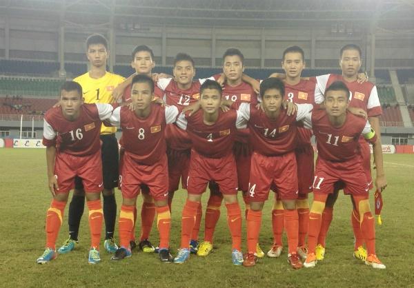 Thang 11-0, U16 Viet Nam vao ban ket giai DNA hinh anh