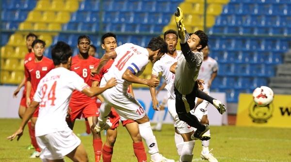 Doi thu U23 VN binh hung tuong manh chuan bi cho SEA Games hinh anh
