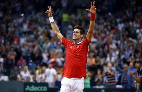 Djokovic giup Serbia gianh quyen vao chung ket Davis Cup hinh anh