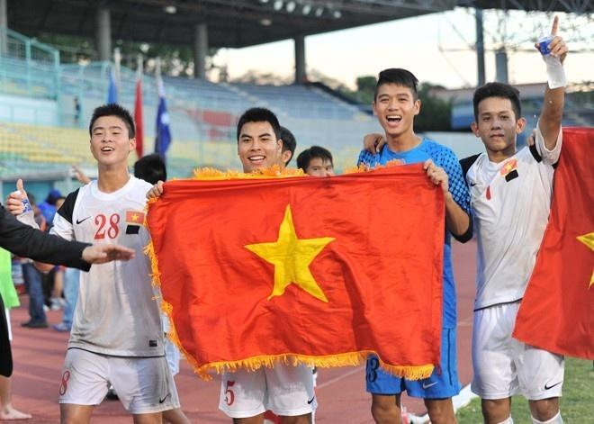 U19 Viet Nam lap hang loat ky luc tai vong loai chau A hinh anh