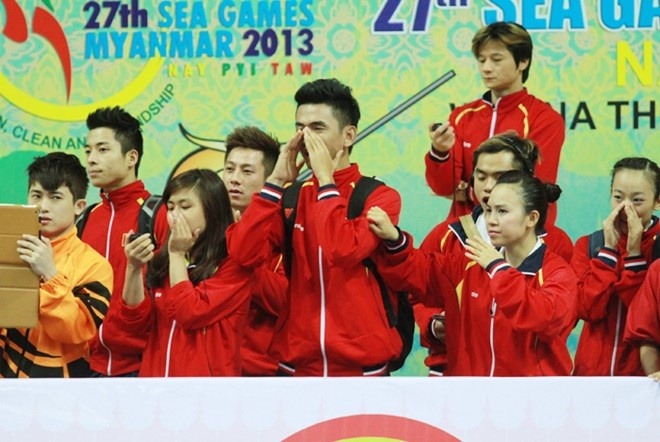 Lich thi dau SEA Games 8/12: Wushu tiep tuc san vang hinh anh