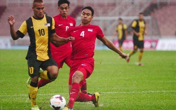 U23 Singapore vao ban ket, day U23 Viet Nam vao the kho hinh anh