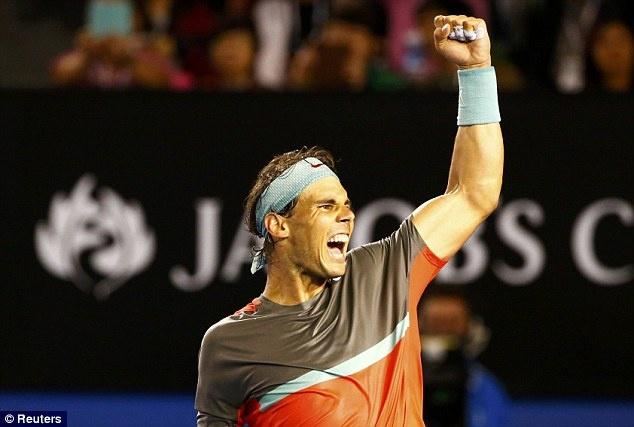 Nadal an mung day cam xuc khi khuat phuc Federer hinh anh