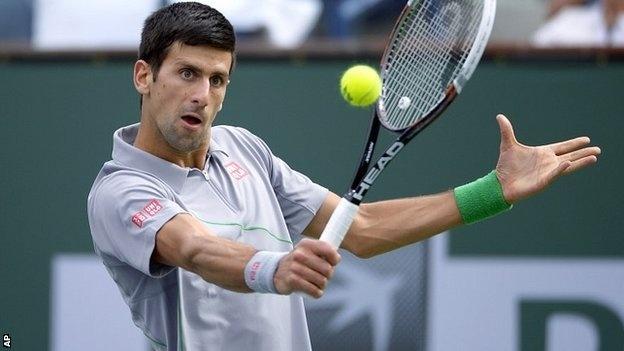 Djokovic thang tien tai Indian Wells hinh anh