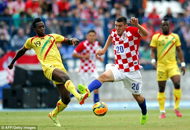 Brazil - Croatia: Dieu samba cuong say hinh anh 2 Meteo Kovacic là nhân tố có thể gây nên đột biên ở tuyến giữa Croatia bên cạnh 2 đàn anh Modric và Rakitic. Ảnh: Getty Images.