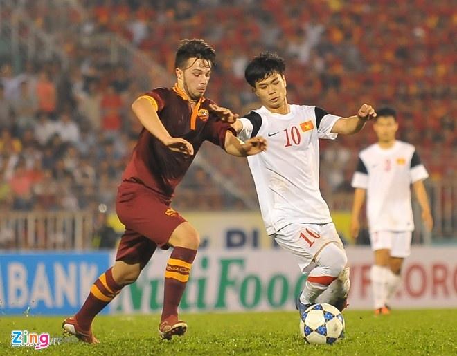 Cong Phuong lap cu dup giup U19 Viet Nam thang 4-3 hinh anh 2 Công Phượng xứng danh chân sút chủ lực của U19 Việt Nam.