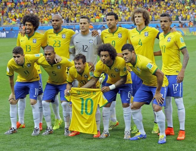 Cau thu Brazil rot gia the tham sau World Cup hinh anh