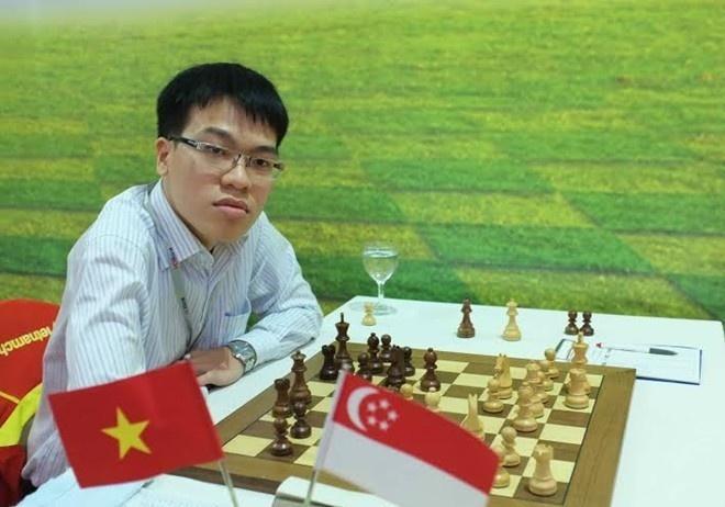 Quang Liem, Truong Son du giai co vua Olympiad 2014 hinh anh