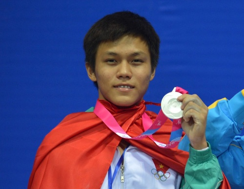 'Thach Kim Tuan em' nham HCV tai giai Olympic tre 2014 hinh anh