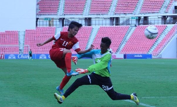 Dung doi du bi, U19 nu Viet Nam van thang 19-0 hinh anh