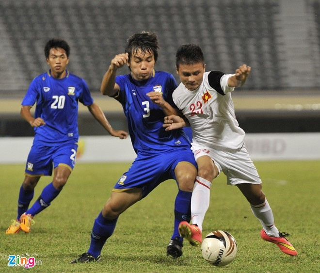 Thanh Hau, Quang Hai trai long ve U19 Viet Nam hinh anh 1