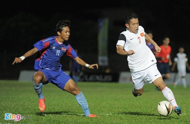 Muon neo duong vao U19 Viet Nam hinh anh 1 Hồng Duy là một trong những trường hợp tiêu biểu được HLV Graechen bốc lên học viện từ đội năng khiếu.