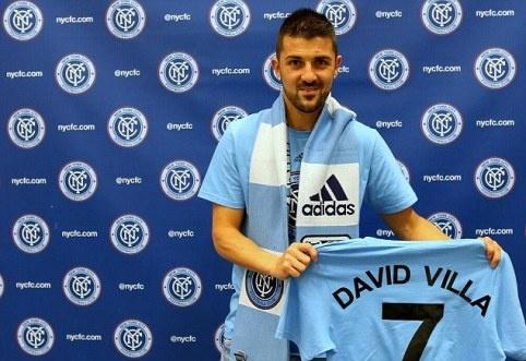 Luong Lee Nguyen cao gap 3 lan David Villa hinh anh 2 David Villa ký hợp đồng với New York City từ đầu tháng 6/2014 nhưng phải đến mùa giải MLS 2015 anh mới thi đấu cho đội.