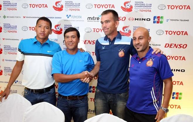 B.Bình Dương có đầy đủ lực lượng hùng hậu nhất để thi đấu với nhà vô địch Campuchia Phnom Penh Crown vào ngày mai 31/10.