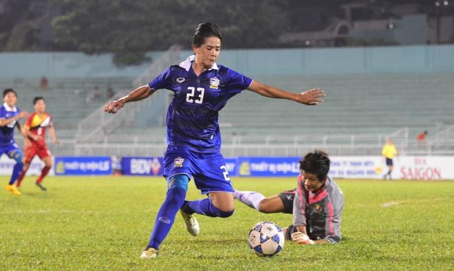 Vo dich AFF Cup, tuyen nu Thai Lan huong den World Cup hinh anh
